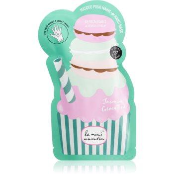 Le Mini Macaron Jasmine Green Tea masca revitalizanta de maini imagine produs