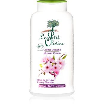 Le Petit Olivier Cherry Blossom cremă pentru duș