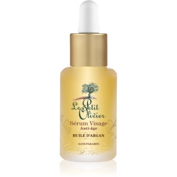 Le Petit Olivier Argan Oil ser pentru ten  antirid  30 ml