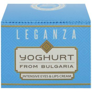 Leganza Yoghurt creme intensivo  para contornos dos olhos e lábios 2