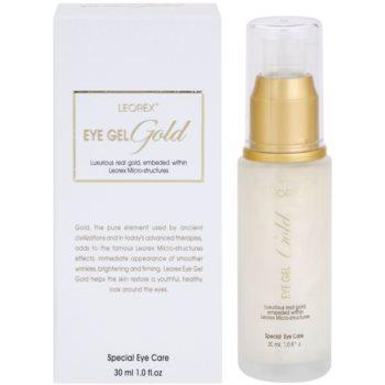 Leorex  Gold rozjasňující oční gel se zlatem 2