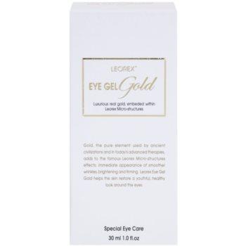 Leorex  Gold rozjasňující oční gel se zlatem 3