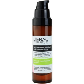 Lierac Prescription gel matifiat concentrat pentru ten acneic 1