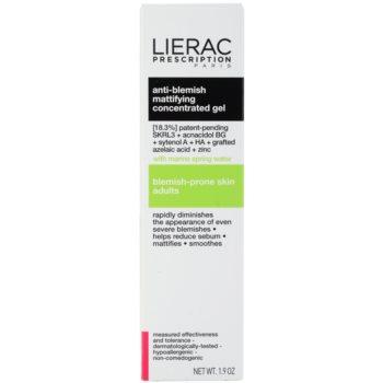 Lierac Prescription gel matifiat concentrat pentru ten acneic 3