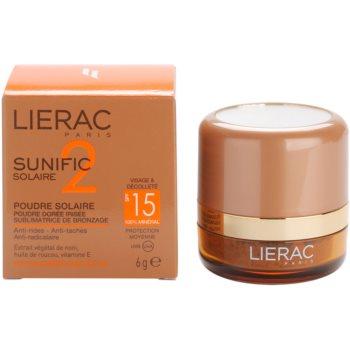 Lierac Sunific 2 bronz puder SPF 15 3