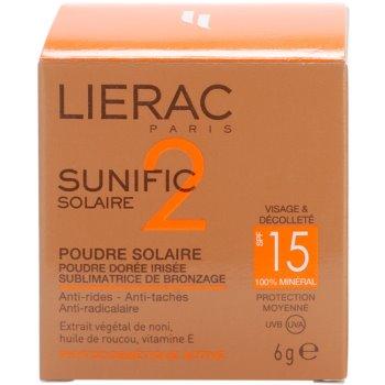 Lierac Sunific 2 bronz puder SPF 15 4