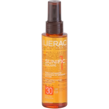 Lierac Sunific 1 олійка для засмаги SPF 30