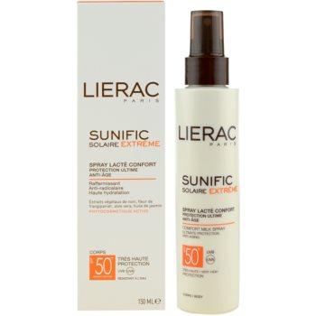 Lierac Sunific Extreme spray pentru bronzat SPF 50+ 2