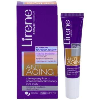 Lirene Anti-Aging intensive Anti-Falten Augencreme SPF 10 1