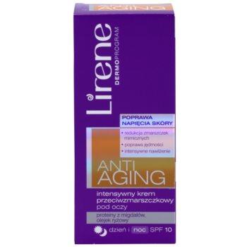 Lirene Anti-Aging intensive Anti-Falten Augencreme SPF 10 2