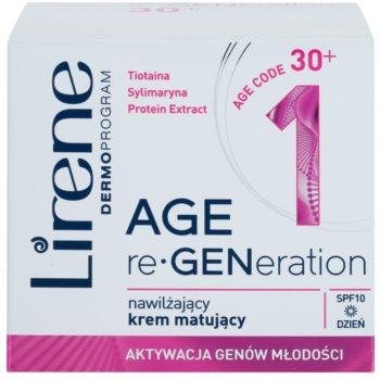 Lirene AGE re•GENeration 1 зволожуючий матуючий крем SPF 10 2