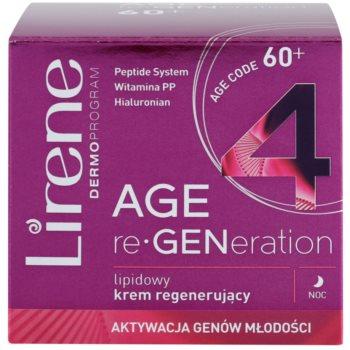 Lirene AGE re•GENeration 4 nočna krema z lipidi z regeneracijskim učinkom 2