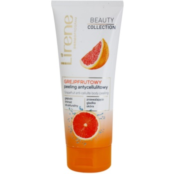 Lirene Beauty Collection Grapefruit testpeeling narancsbőrre