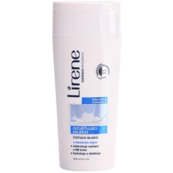 Lirene Beauty Care lapte pentru curatare cu ulei de migdale
