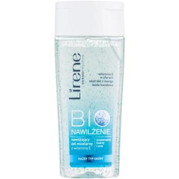 Lirene Bio Hydration gel de curatare micelar pe fata si ochi  200 ml