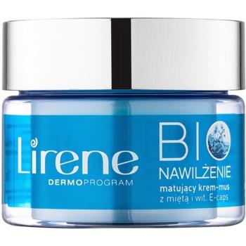 Lirene Bio Hydration Crema hidratanta cu efect matifiant pentru ten mixt si gras