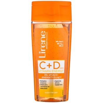 Lirene C+D Pro Vitamin Energy gel de curățare cu efect energizant