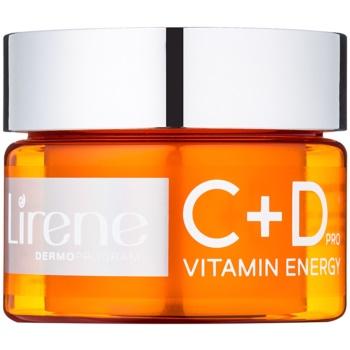 Fotografie Lirene C+D Pro Vitamin Energy hydratační krém-gel s rozjasňujícím účinkem 30+ 50 ml