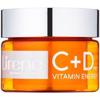Lirene C+D Pro Vitamin Energy cremă-gel hidratant cu efect de strălucire
