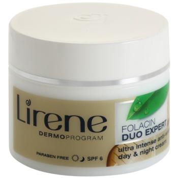 Lirene Folacin Duo Expert 40+ crema anti-rid intensiva SPF 6