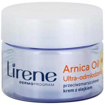 Lirene Essential Oils Arnica розгладжуючий крем проти зморшок