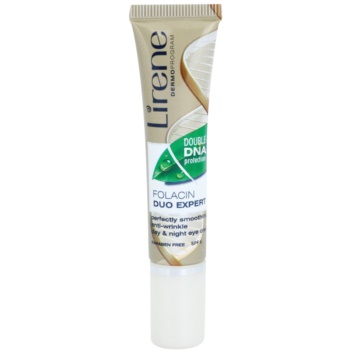 Lirene Folacyna 40+ vyhlazující oční krém proti vráskám SPF 6 15 ml