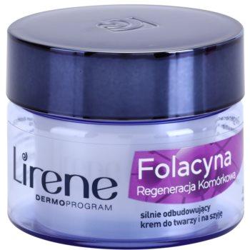 Lirene Folacyna 70+ нощен крем  за подновяване на кожните клетки