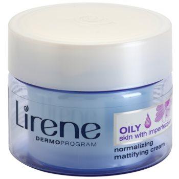 Lirene Healthy Skin+ Oily Skin Crema de zi si noapte cu efect de matifiere si uniformizarea pielii pentru pielea cu imperfectiuni  50 ml