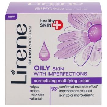Lirene Healthy Skin+ Oily Skin normalizująco-matujący krem na dzień i na noc do skóry z niedoskonałościami 2