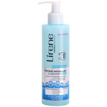 Lirene Hypoallergenic gel de curatare cu particule micelare