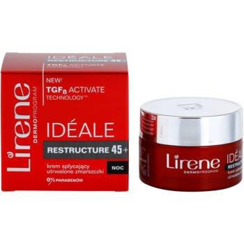 Lirene Idéale Restructure 45+ crema de noapte pentru fermitate si contur 2