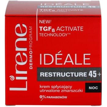 Lirene Idéale Restructure 45+ crema de noapte pentru fermitate si contur 3