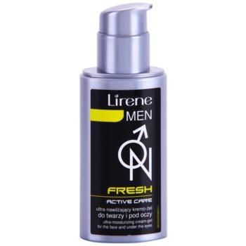 Lirene Men Fresh żelowy krem nawilżający do łagodzenia 1