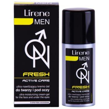 Lirene Men Fresh żelowy krem nawilżający do łagodzenia 2