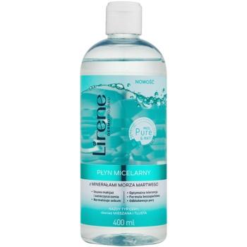 Lirene Micel Pure Matt apa cu particule micele cu minerale de la Marea Moarta
