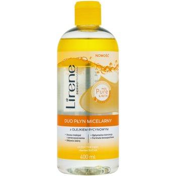 Lirene Micel Pure Nutri apă micelară bifazică cu ulei de ricin
