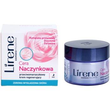 Lirene Redness нічний відновлюючий крем проти зморшок 1