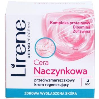 Lirene Redness нічний відновлюючий крем проти зморшок 2
