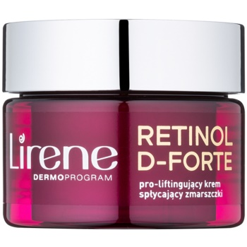 Lirene Retinol D-Forte 50+ Antifalten-Tagescreme mit Lifting-Effekt 50 ml