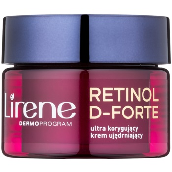Fotografie Lirene Retinol D-Forte 50+ zpevňující noční krém pro korekci vrásek 50 ml