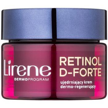 Lirene Retinol D-Forte 60+ cremă de noapte pentru fermitate cu efect de regenerare