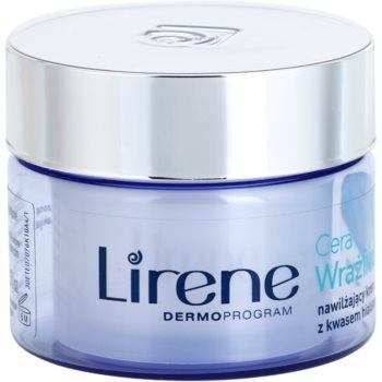 Imagine indisponibila pentru Lirene Sensitive Skin crema hidratanta cu acid hialuronic
