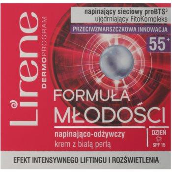 Lirene Youthful Formula 55+ straffende Creme mit nahrhaften Effekt 2