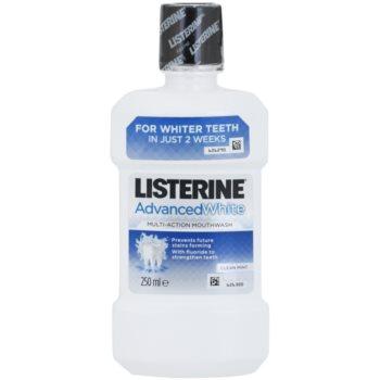 Listerine Advanced White apa de gura cu efect de albire