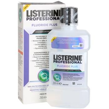 Listerine Professional Fluoride Plus elixir bocal anticárie 3