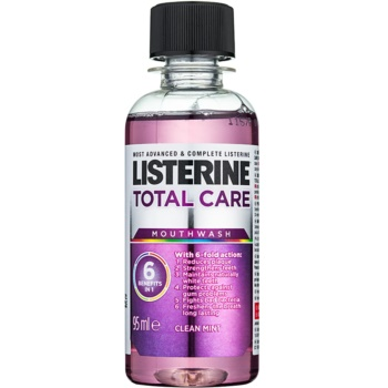Listerine Total Care Clean Mint Apa de gura pentru protectia completa a dintilor 6 in 1