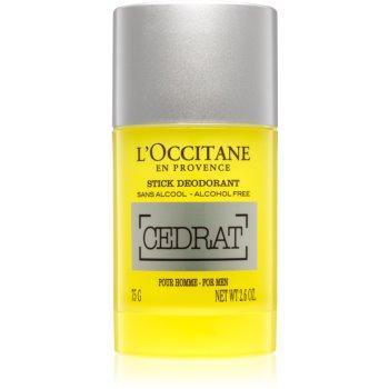 L'Occitane Homme Deodorant roll-on fara alcool pentru barbati