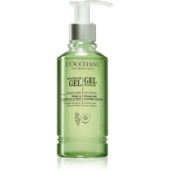 L'Occitane Gel To-Foam Gel demachiant
