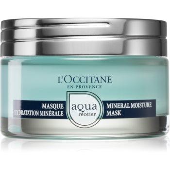 L'Occitane Aqua Réotier masca pentru hidratare intensa pentru tenul uscat
