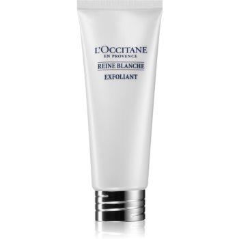 L'Occitane Reine Blanche exfoliant facial pentru o piele mai luminoasa imagine produs